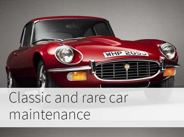 Classic Car Maintenance : Classic car and rare maintenance browningsgarage